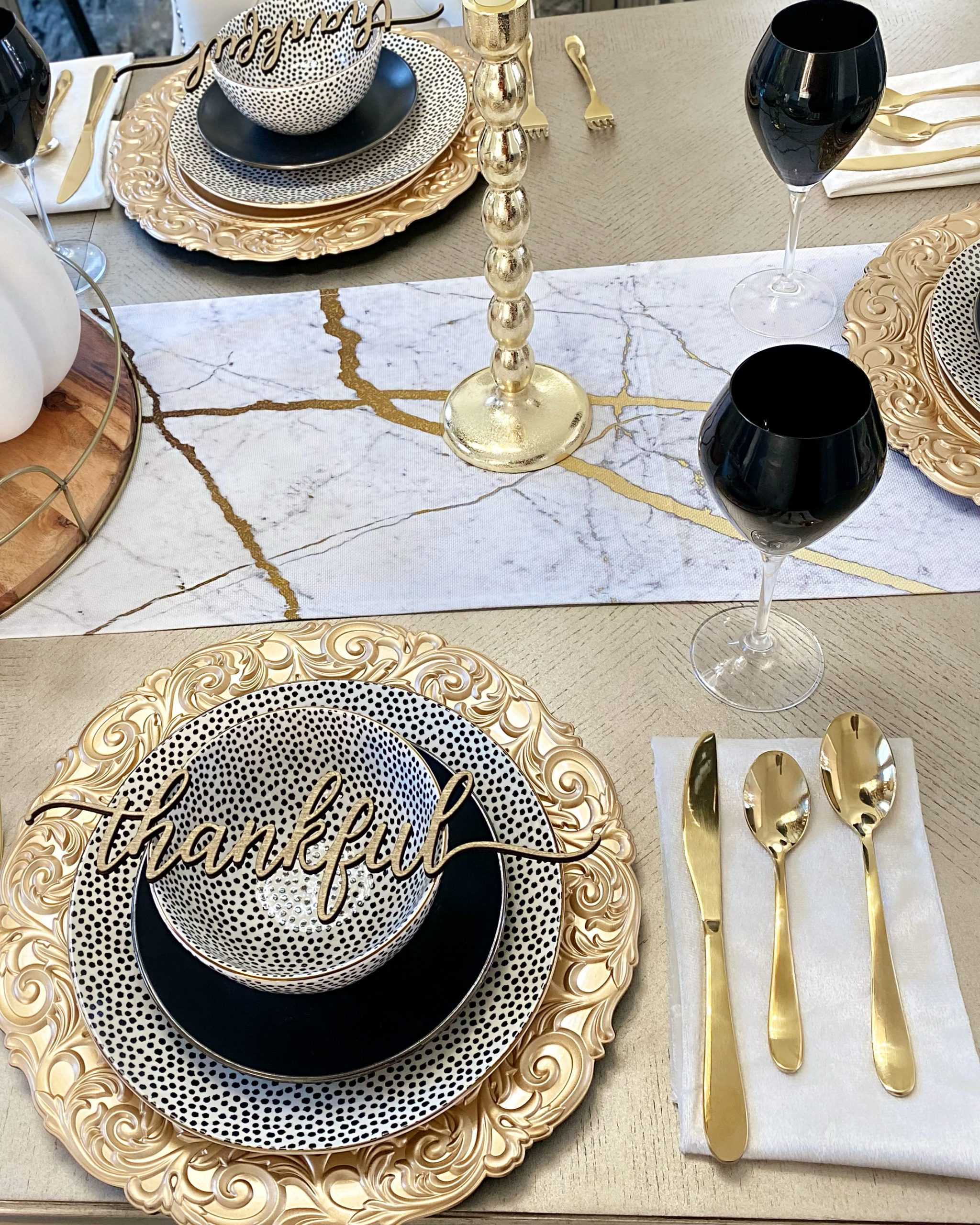 Fall Tablescape with Walmart